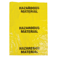 Hazardous Waste Bags SEK328 | Nassau Supply