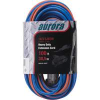 Triple Tap All-Weather TPE-Rubber Extension Cords with Light Indicator XH237 | Nassau Supply