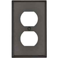 Receptacle Wallplate XI179 | Nassau Supply
