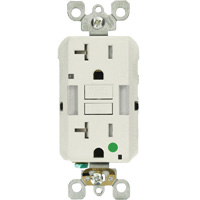 SmartlockPro<sup>®</sup> Extra Heavy-Duty Self-Test GFCI Receptacle XI225 | Nassau Supply
