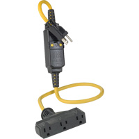 Triple-Tap Inline GCFI Extension Cord & Connector XI231 | Nassau Supply